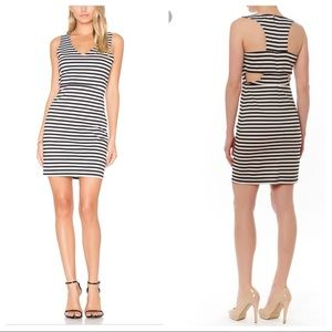 BB Dakota jack geno Stripe Dress Size 10